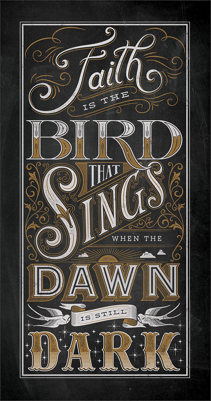 Susan Burghart, Typography