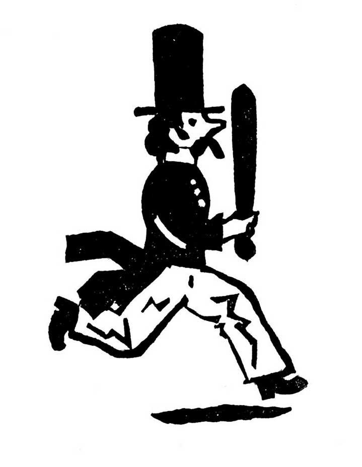 Christopher Brown, Linocut illustration