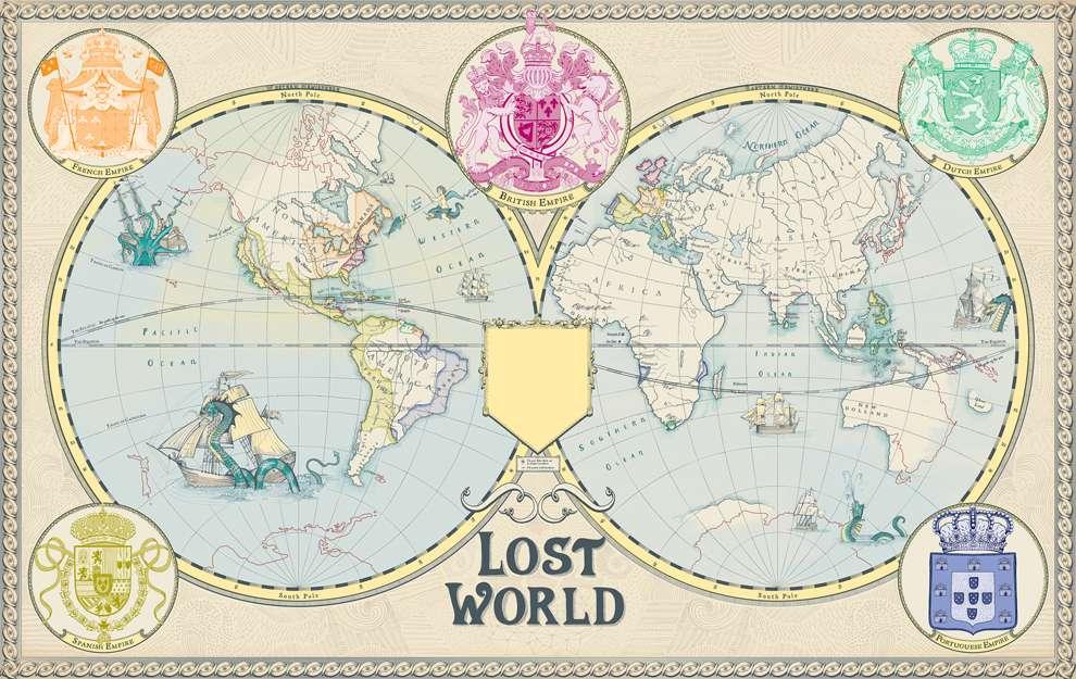 Valentina  D'Efilippo, Wolrd map