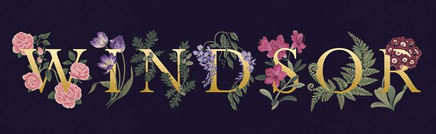 Charlotte Day, Decorative botanical typography