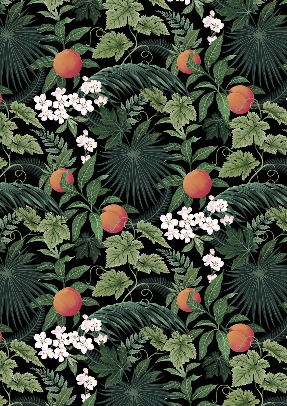 Charlotte Day, Botanical fruit print for Briska's cider bottles. Branding - painterly details.