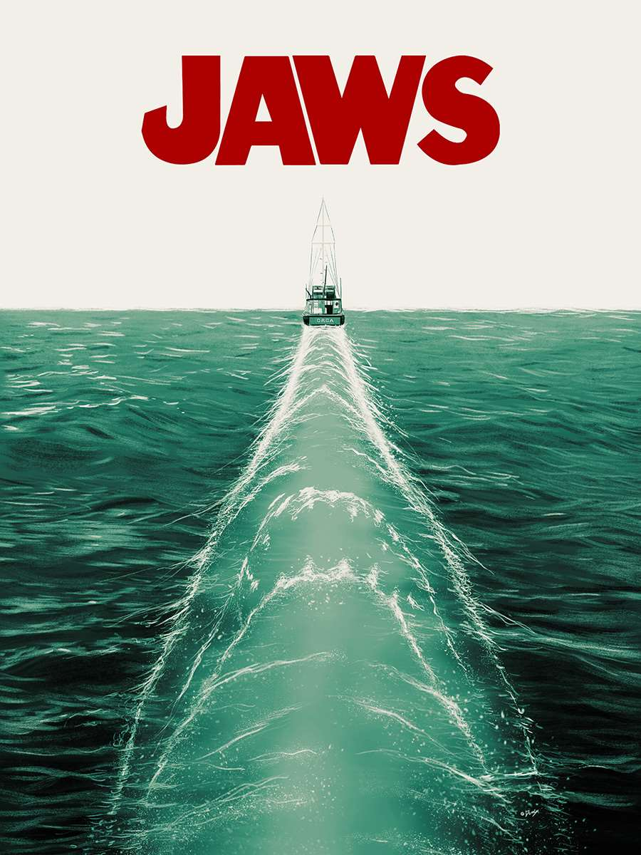 Doaly, Jaws Movie Poster.