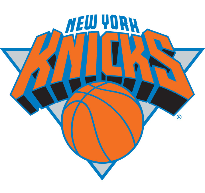 Michael Doret, Digital and bold typography for basketball team new york knicks