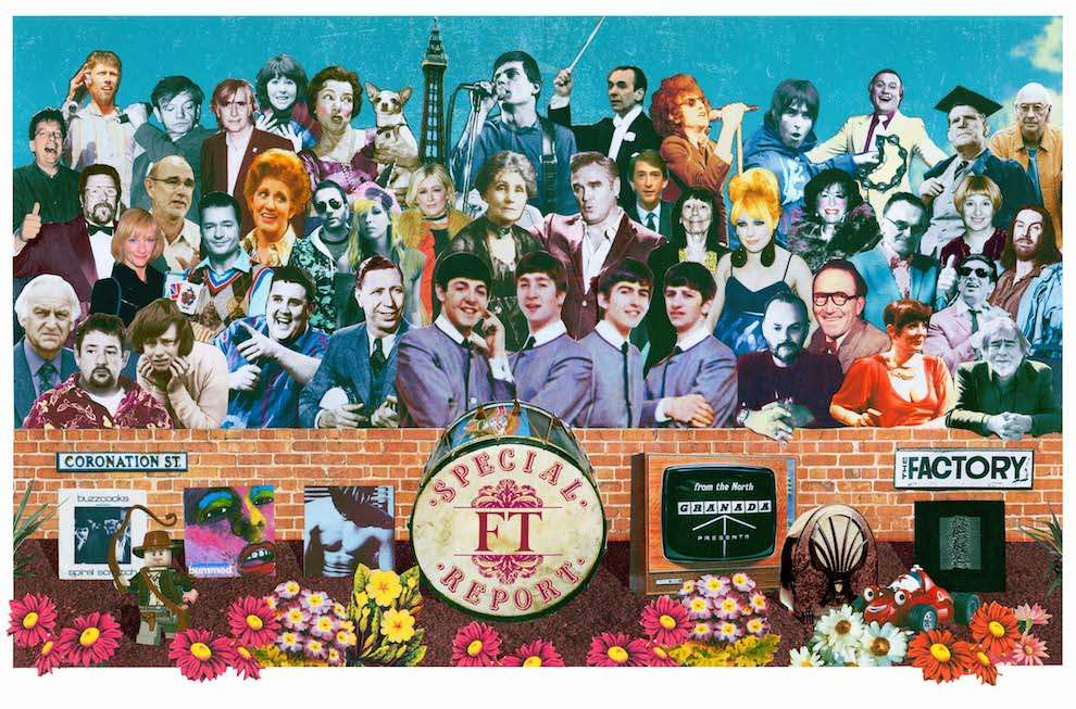 Jackie Parsons, Pastiche collage of Peter Blake