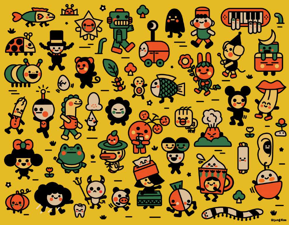 Uijung Kim, Uijung Kim pattern design