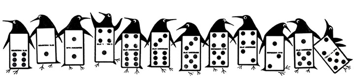 MH Jeeves, MH Jeeves domino penguins
