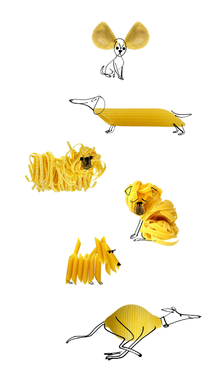 MH Jeeves, MH Jeeves pasta shape dogs