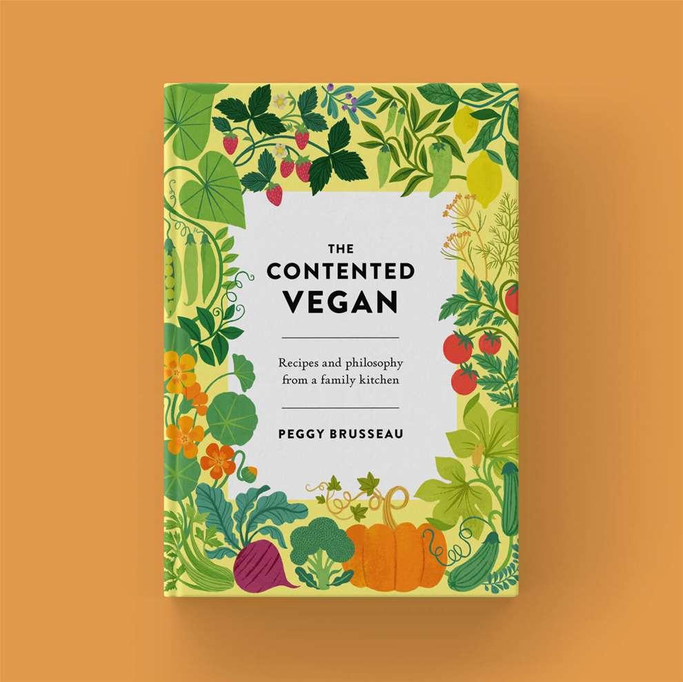 Tatiana Boyko, Textural botanical cookbook cover illustration
