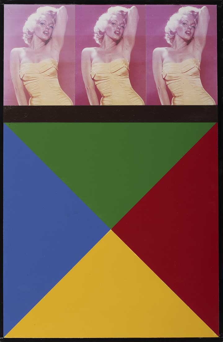 Sir Peter Blake, Photo collage of Marilyn Monroe