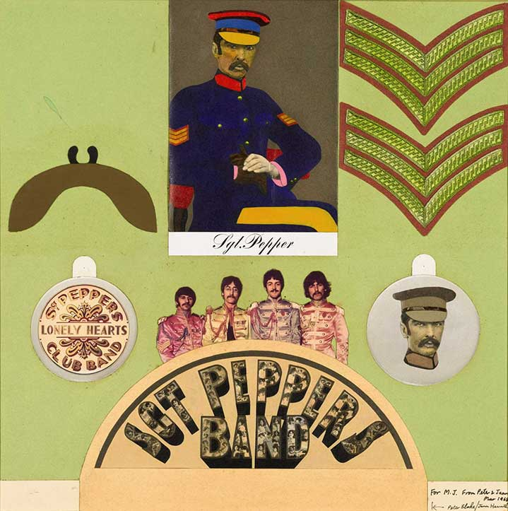 Sir Peter Blake, Photocollage