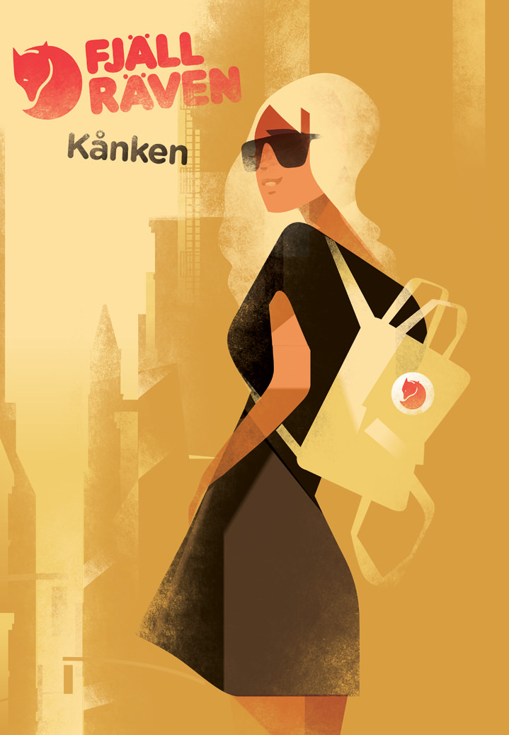 Mads Berg, Art deco digital vintage illustration