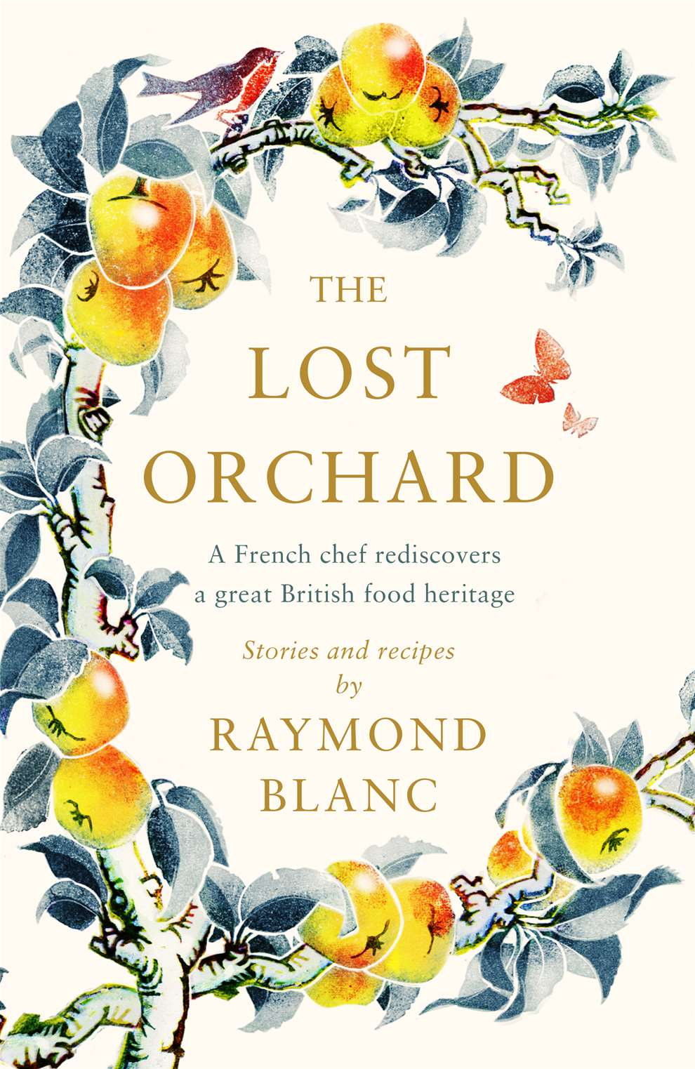Clare Melinsky, Botanical book cover for Raymond Blanc's 'The Lost Orchard'