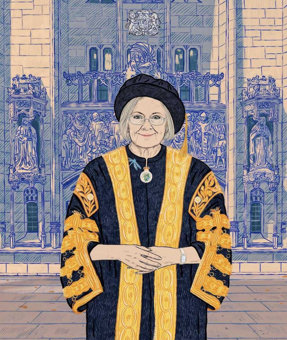 Anna Higgie, Portrait illustration