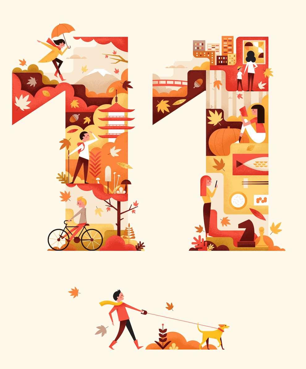 Parko Polo, Graphic illustration
