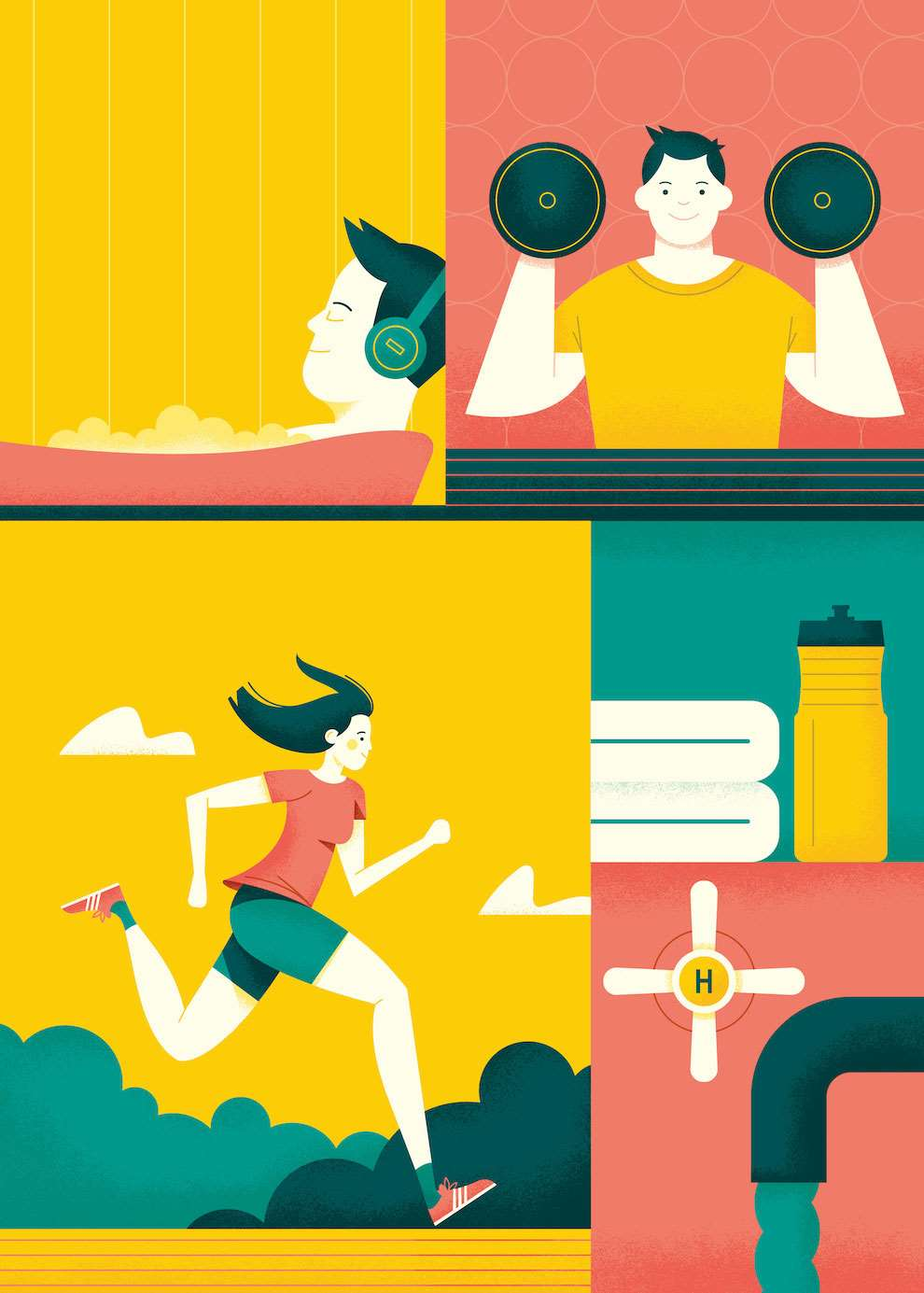 Parko Polo, Blog and graphic illustration