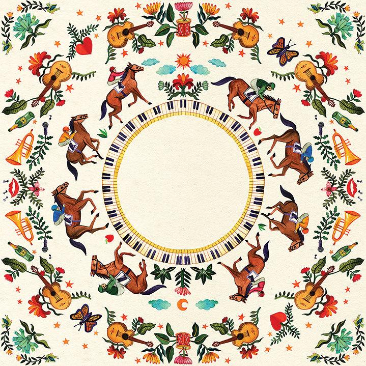 Aitch, Aitch, illustration, illustrator, painterly, folk, animals, characters, details, art