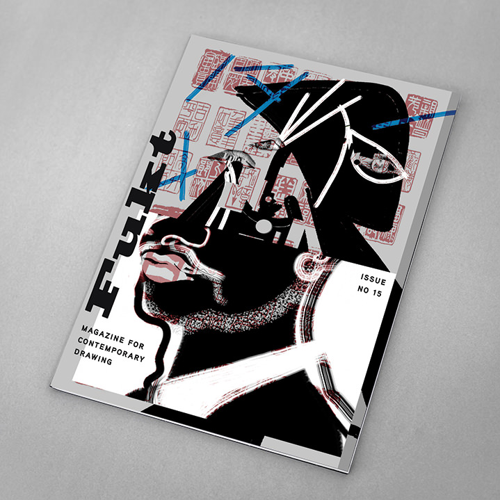 Brian Grimwood, Brian Grimwood, illustrator, illustration, brush, bold, ink, paint, packaging, wine, bottle, modern, artist