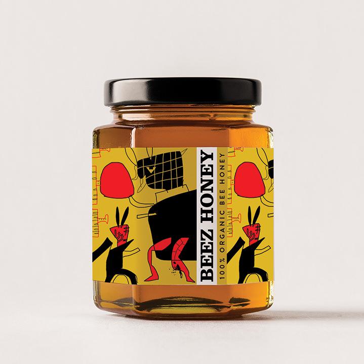 Brian Grimwood, Honey packaging