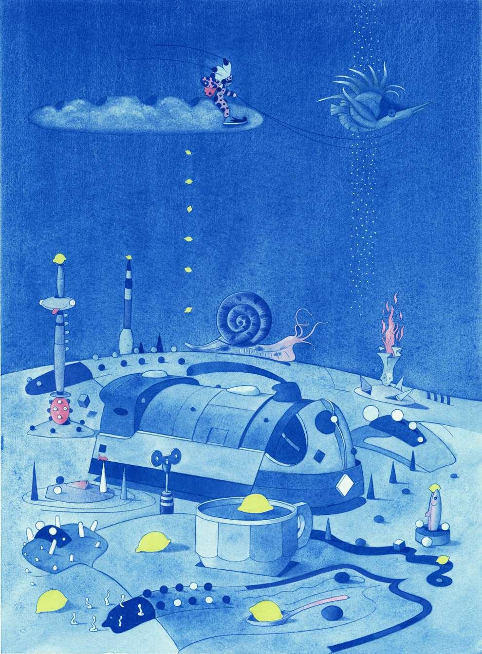 Chris McEwan, Surreal underwater scenery
