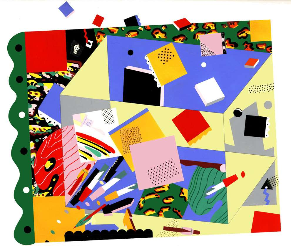 Chris McEwan, Surreal graphic pattern illustration