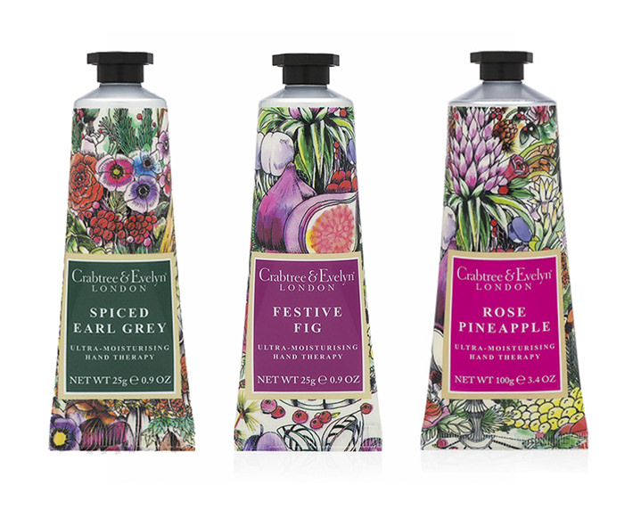 Good Wives and Warriors, good wives and warriors colourful decorative fruits and flowers illustration for cosmetic packaging