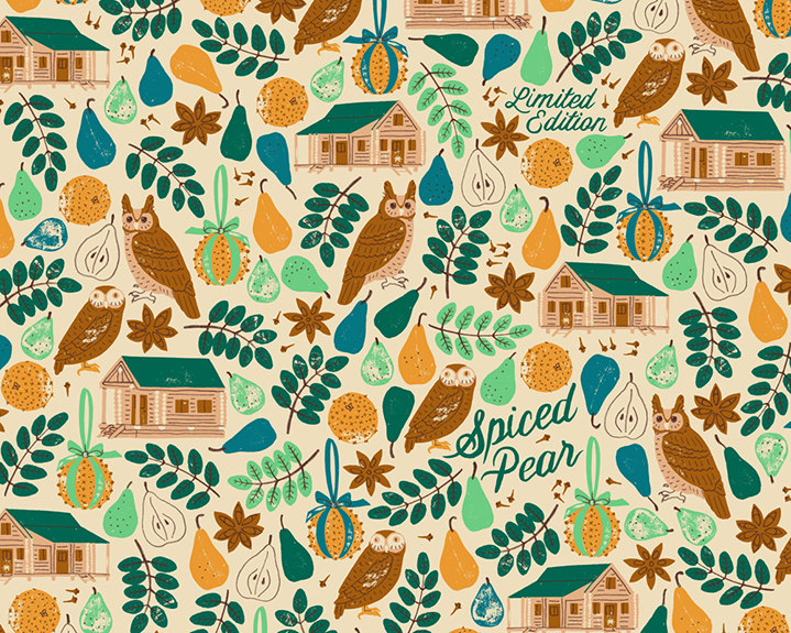 Harriet Seed, harriet taylor seed, illustration, pattern, decorative, detail, wrapping paper, folk art, folk illustration, seaweed, aquatic, underwater, seaside, painterly, painted, packaging, beauty, fashion,
