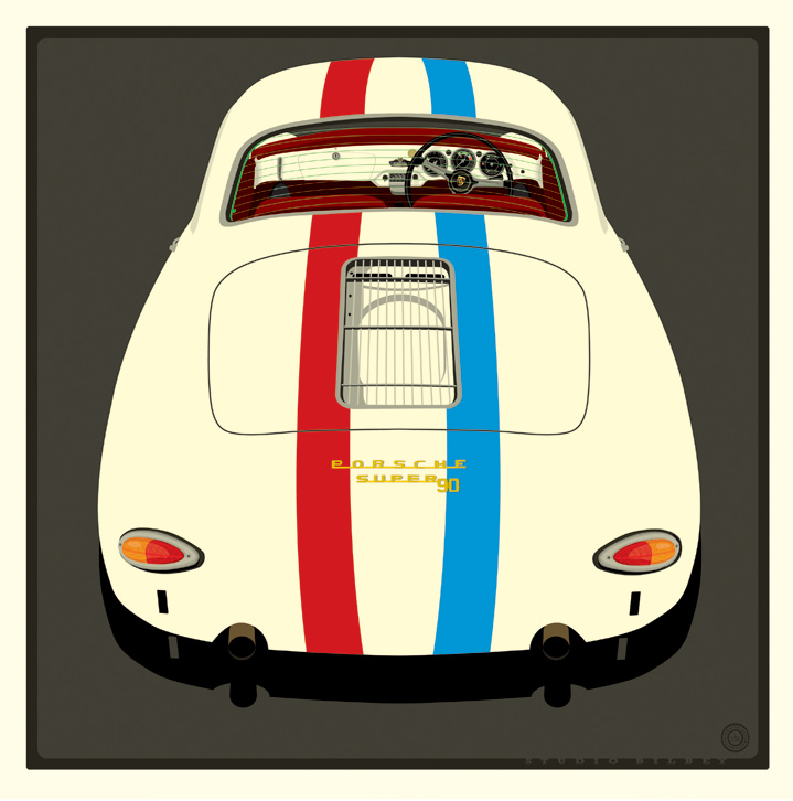 Ian Bilbey, Illustration, design, vectors, cars, automotive