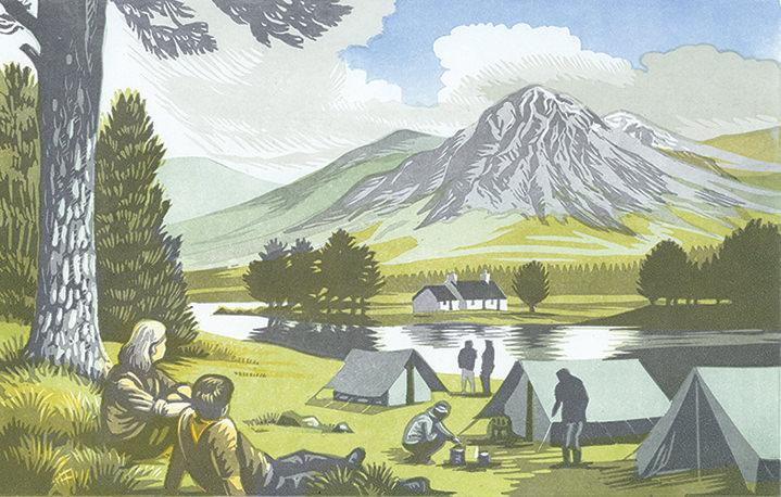 Jeremy Sancha, Traditional wood cut scenery