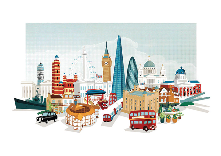 Kerry Hyndman, Kerry Hyndman london cityscape
