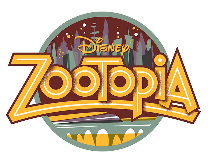 Michael Doret, Digital typography for Disney movie Zootopia