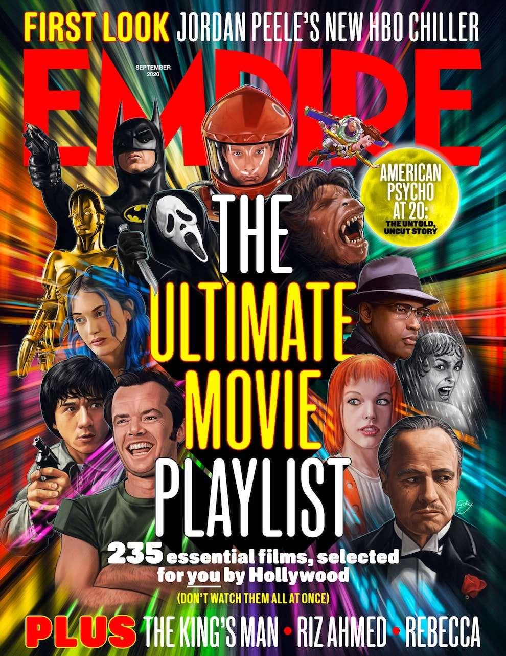 Sam  Gilbey, Digital movie poster illustration for Empire magazine cover