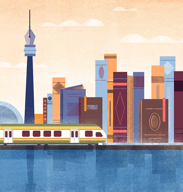 Tatiana Boyko, Cityscape illustration