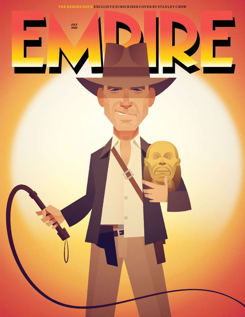 Stanley Chow, Empire Magazine The Heroes Issue Exclusive Subscriber Cover Stanley Chow.