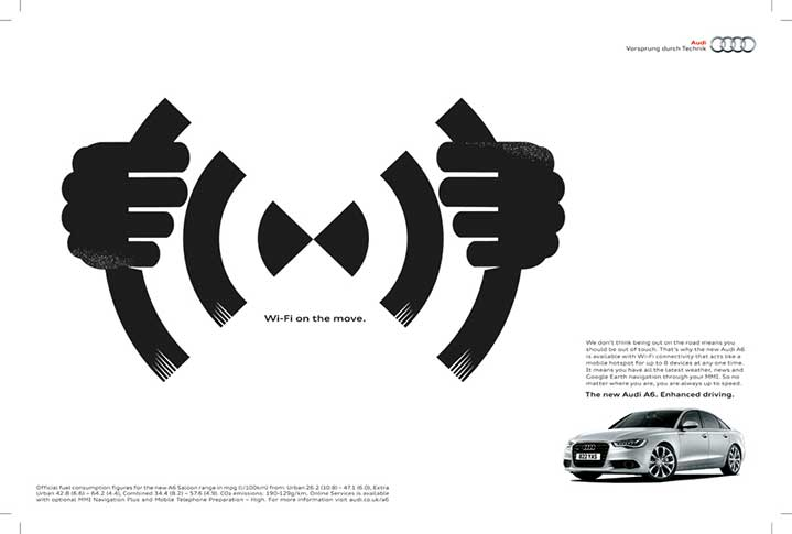 Ulla Puggaard, ulla puggard driving illustration for audi advert