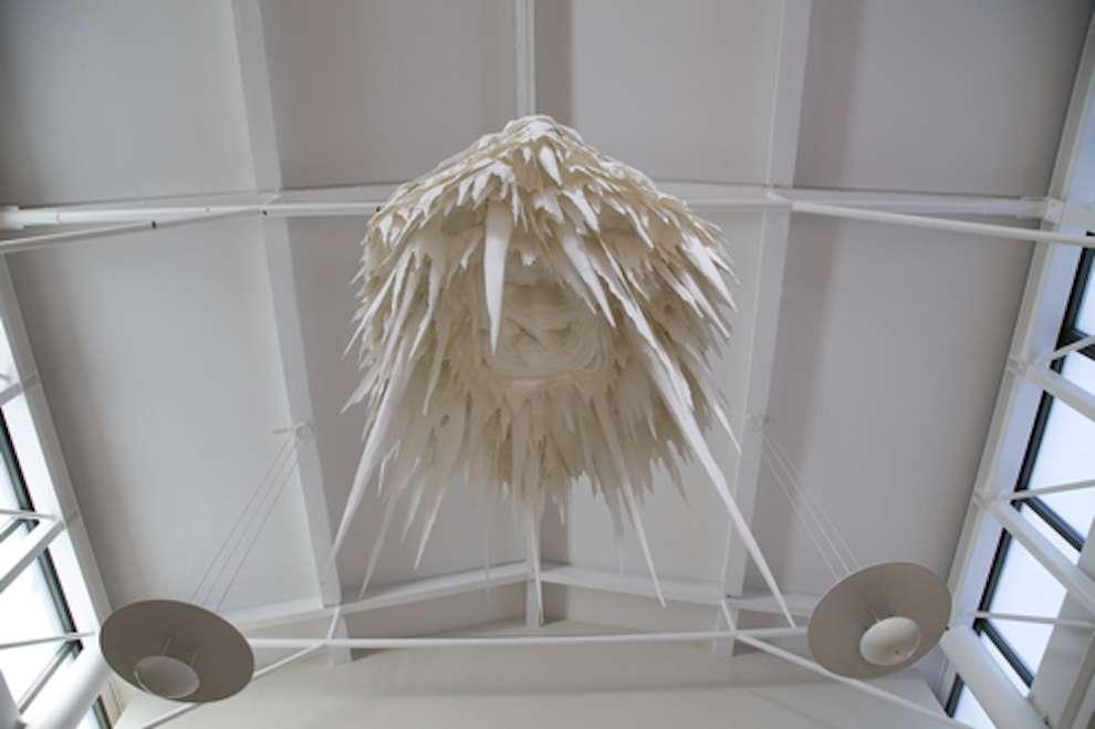 Andy Singleton, Conceptual paper sculpture