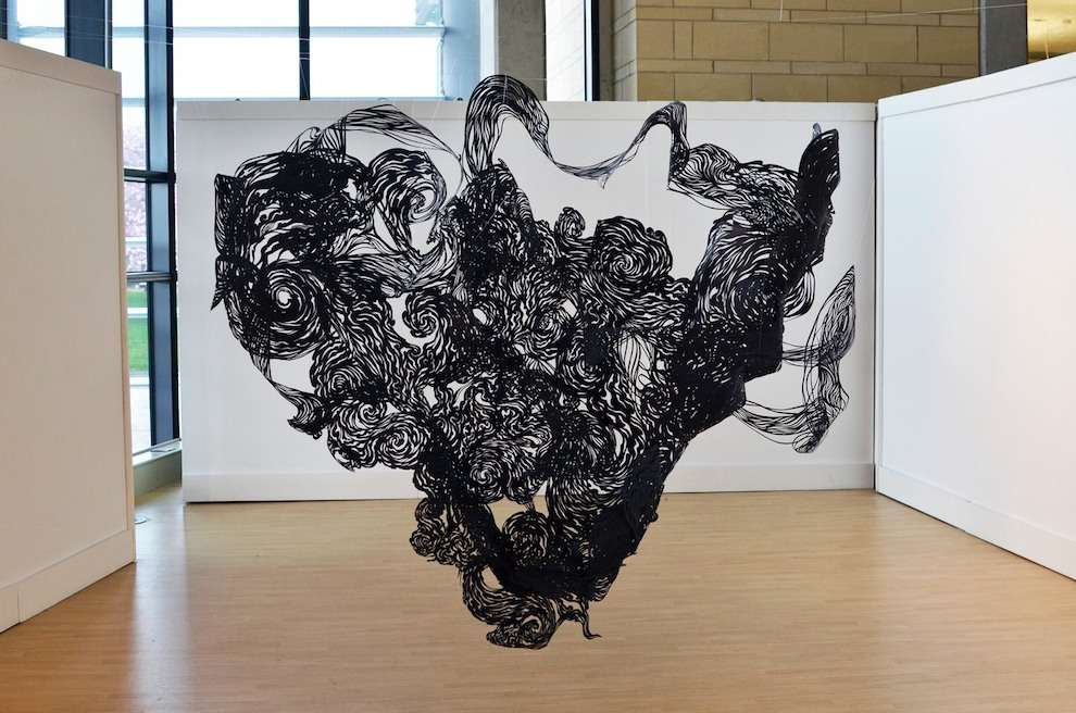 Andy Singleton, Conceptual decorative paper sculpture