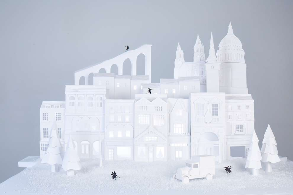 Andy Singleton, Papercraft architectural scenery