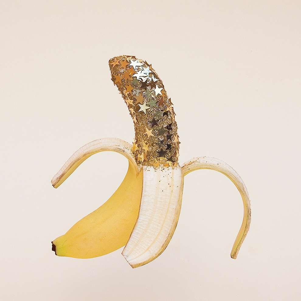 WRK, Glittered banana