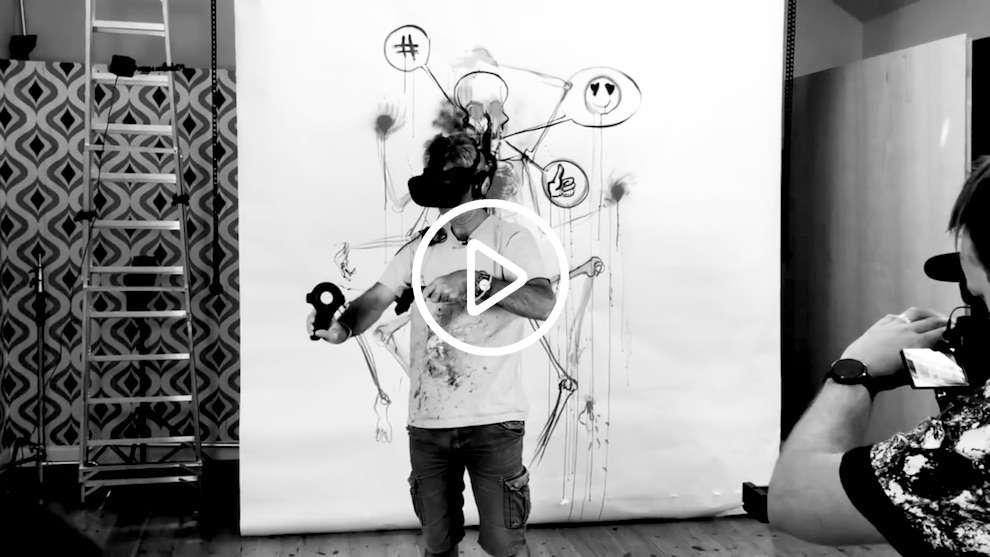Simon Spilsbury, Virtual Reality illustration experience